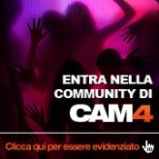 Parlaci di te e fatti notare nella Comunità di Cam4!