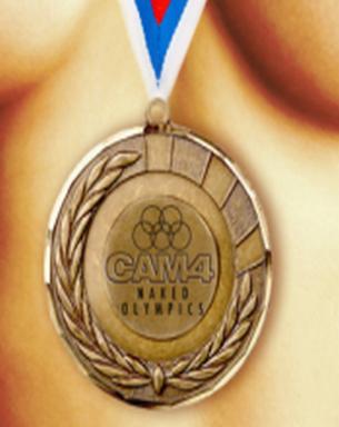 Concorso Olimpiadi nude di Cam4 – Naked Olympics