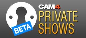 Show privati pagamento al minuto su Cam4!