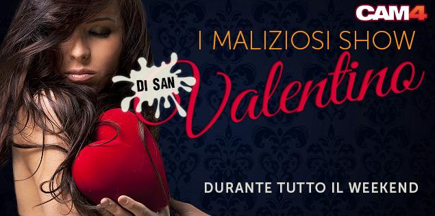 Gli Show della passione a tema San Valentino