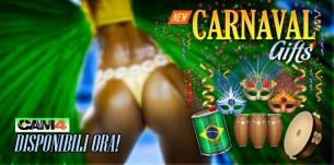 Il Carnevale è sexy con i nuovi regali Cam4!