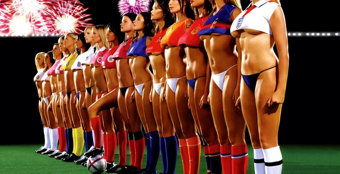 Il meglio della Coppa Del Mondo: Le Sexy Tifose CAM4