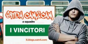 Cam2Cam Sfida a Squadre: I vincitori!