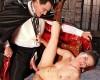 VAMPIRISMO: Halloween e la voglia di Sesso Live con un bel porno Vampiro