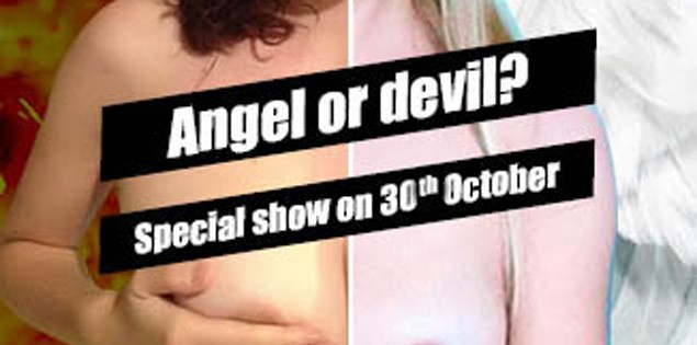 Angelo o Diavolo? Foxy_C e DesireV Special Live Cam Show