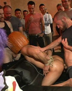 halloween porno party