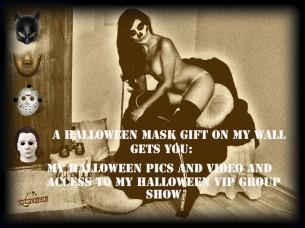 Halloween porno su Cam4 – Il Sexy affare di Chemical Girl!
