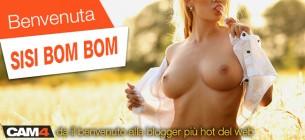 Approda su CAM4 Blog Sisi Bom Bom, la nostra nuova HOT BLOGGER