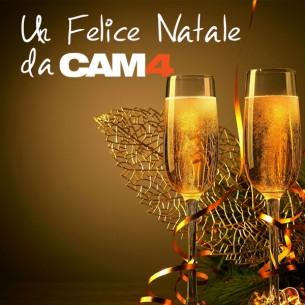 Piccanti auguri di Buone Feste a tutta la Hot Community di CAM4