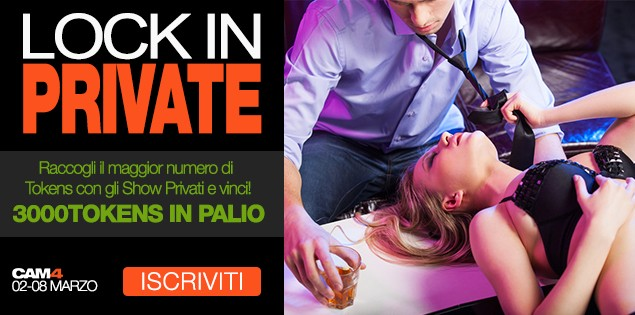 300$ in palio per il ritorno del Contest Lock In Private!