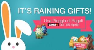 It's Raining Gifts: Ricevi regali di Pasqua – 3000 tokens in palio!
