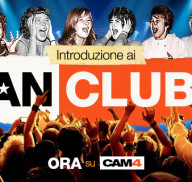 Grande Novità! I Fan Club CAM4!