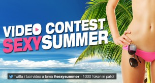 Video Contest Cam4 #sexysummer – vinci fino a 750 tokens!