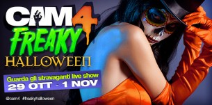 Contest Show di Gruppo CAM4 #Freakyhalloween!