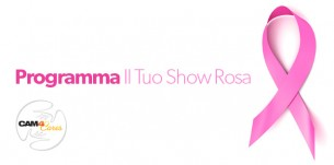 #cam4pink Weekend: Il tuo Show Rosa vale 100 Token!