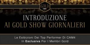 Show Gold CAM4 Gennaio 2016