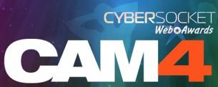 CAM4 miglior sito di Webcam ai Cybersocket Web Awards