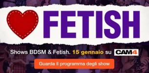 WE LOVE FETISH! Segui gli show dell'International Fetish Day!