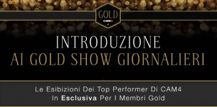 Show Gold CAM4 Febbraio 2016