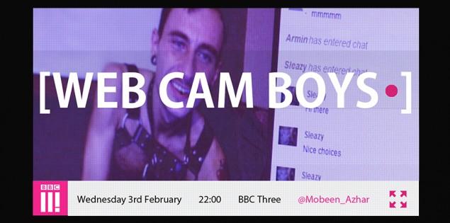 WEBCAM BOYS: i performers di Cam4 in onda sulla BBC