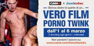 A Marzo il nuovo Film Porno Gay di French Twinks live su CAM4