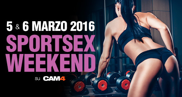 Maratona di Webcam SEX Show 5 & 6 marzo su CAM4!
