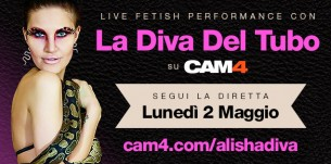 La Diva Del Tubo in webcam live su CAM4!