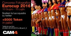 Contest Europei: Sostieni la tua squadra su twitter e vinci token!
