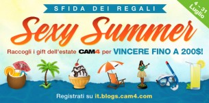 SEXY SUMMER PARTY! Il Concorso Dei Regali Dell'Estate CAM4
