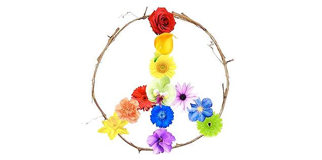 """Supporta le vittime di Orlando inviando il Gift CAM4 a tema """"Peace & Love"""""""