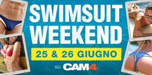 Weekend prova costume su CAM4! Guarda il Programma
