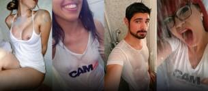 Ragazzi e Ragazze bagnate al 100% su Cam4 (Foto #getwet)