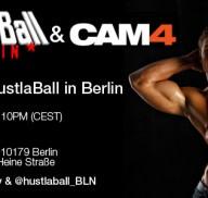 CAM4 al KITKATCLUB di Berlino per la 14° edizione del Gay Party HUSTLABALL