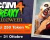 Terrificanti Live Show a tema Freaky Halloween dal 24 al 31 Ottobre!
