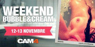 Weekend Bubble&Cream – I Live Show del 12 e 13 November