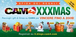 CAM4 MAGIC XXXMAS Gift Contest (classifica al 3 gennaio)