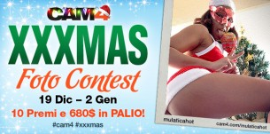 Foto contest CAM4 XXXMAS 2016 – 10 premi e 680$ in palio quest'anno!