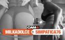 Weekend erotico in Live Cam con Simpatica76 e Milkadolce
