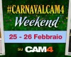 Il Sexy Carnevale del weekend a tema CAM4!