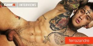 Tatuatissimo e unico nel suo genere: l'intervista al modello brasiliano FERRAZANDRE
