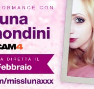 Luna Ramondini in webcam live su CAM4!