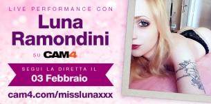 Luna Ramondini in webcam live su CAM4!