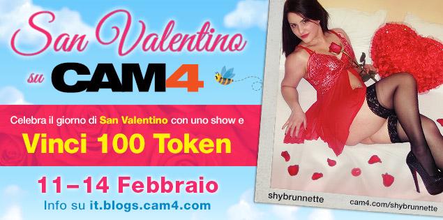 Festeggia San Valentino su CAM4 con uno show e ricevi 100token!!