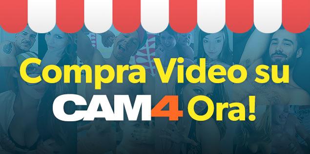 Compra Video su CAM4: godi con i performer anche quando non sono in Cam Live!