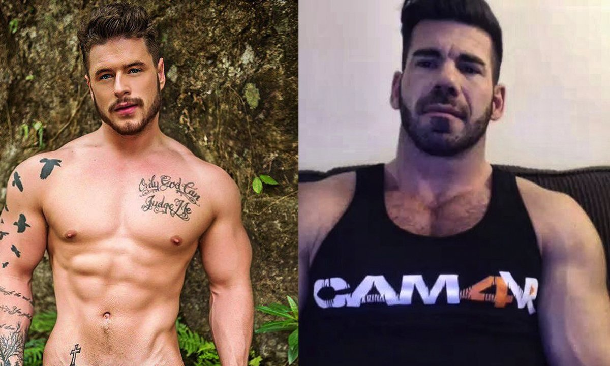 Actores De Porno Italiano los actores porno gay billy santoro y josh moore follando en