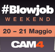 Un gioioso Pompino Party in arrivo su CAM4 – #blowjob weekend!