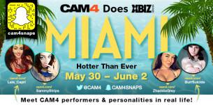 CAM4 alla 14° edizione dei porno XBIZ AWARDS, a Miami!
