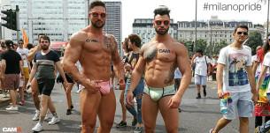 CAM4 GAY PRIDE: la gioiosa e sexy Gallery della parata al Milano Pride