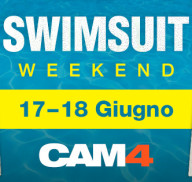 Porno Prova Costume in Webcam questo weekend su Cam4!