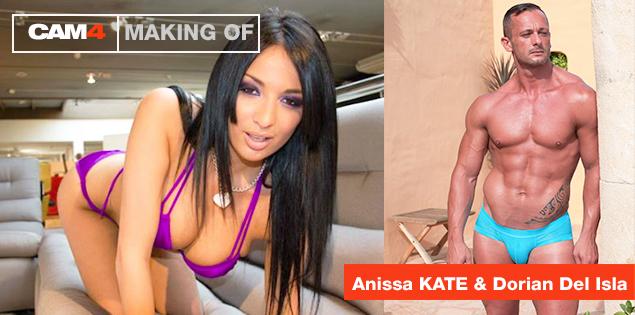 Guarda live le riprese del porno di LalyProd con Anissa Kate & Dorian Del Isla: 3 agosto dalle 10 alle 19!